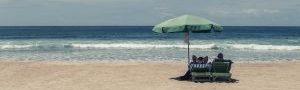 Die-Strandmatte | stylisch, faltbar, mit Kopf- Rückenlehne uvm.